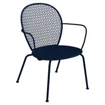 Lorette Low Armchair  - Deep Blue