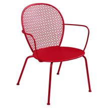 Lorette Low Armchair  - Poppy