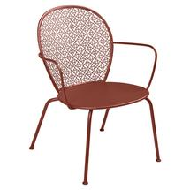Lorette Low Armchair  - Red Ochre