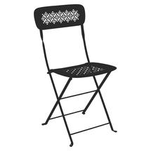 Lorette Folding Chair - Liquorice