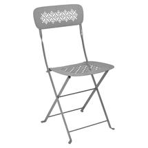 Lorette Folding Chair - Steel Grey