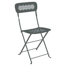 Lorette Folding Chair - Storm Grey