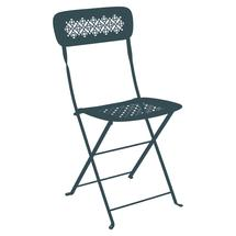 Lorette Folding Chair - Acapulco Blue