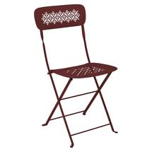 Lorette Folding Chair - Chilli
