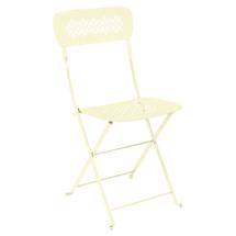 Lorette Folding Chair - Frosted Lemon
