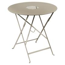 Lorette Folding 77cm Round Table - Nutmeg