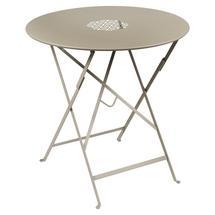 Lorette Folding 77cm Round Table - Nutmeg