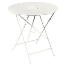 Lorette Folding 77cm Round Table - Clay Grey