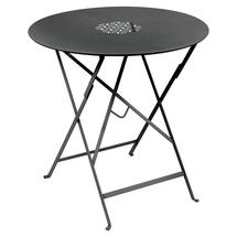 Lorette Folding 77cm Round Table - Anthracite