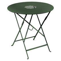 Lorette Folding 77cm Round Table - Cedar Green