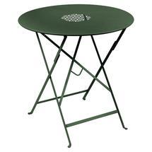 Lorette Folding 77cm Round Table - Cedar Green