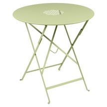 Lorette Folding 77cm Round Table - Willow Green