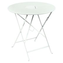 Lorette Folding 77cm Round Table - Ice Mint