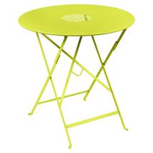 Lorette Folding 77cm Round Table - Verbena Green