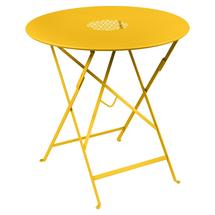 Lorette Folding 77cm Round Table - Honey