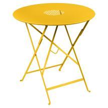 Lorette Folding 77cm Round Table - Honey