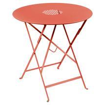 Lorette Folding 77cm Round Table - Capucine