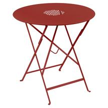 Lorette Folding 77cm Round Table - Poppy