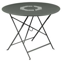 Lorette Folding 96cm Round Table - Rosemary