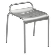 Luxembourg Stool - Steel Grey