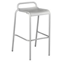 Luxembourg Bar Stool - Steel Grey