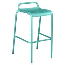 Luxembourg Bar Stool - Lagoon Blue