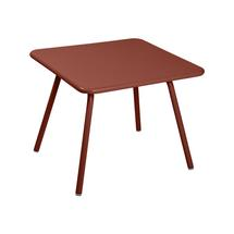 Luxembourg Kid 57 x 57 Table - Red Ochre
