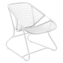 Sixties Armchair - Cotton White/White