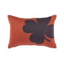Trefle Cushion 44cm x 30cm – Red Ochre
