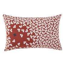 Trefle Cushion 68cm x 44cm – Red Ochre