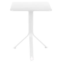 Rest'o 71 x 71 Square Table - Cotton White