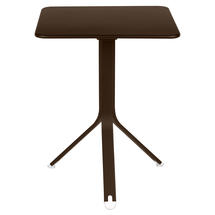 Rest'o 71 x 71 Square Table - Russet