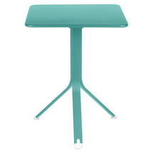 Rest'o 71 x 71 Square Table - Lagoon Blue