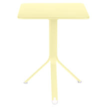 Rest'o 71 x 71 Square Table - Frosted Lemon