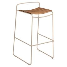 Surprising Teak Bar Stool - Nutmeg