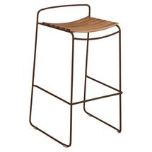 Surprising Teak Bar Stool - Russet