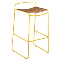 Surprising Teak Bar Stool - Honey