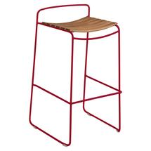 Surprising Teak Bar Stool - Chilli