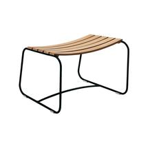 Surprising Teak Footrest - Liquorice