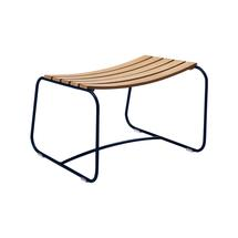 Surprising Teak Footrest - Deep Blue