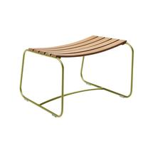 Surprising Teak Footrest - Willow Green
