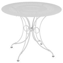 1900 Round Table 96cm  - Cotton White