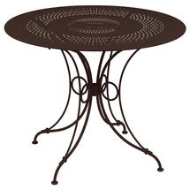 1900 Round Table 96cm  - Russet