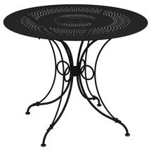 1900 Round Table 96cm  - Liquorice