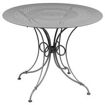 1900 Round Table 96cm  - Steel Grey