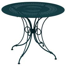 1900 Round Table 96cm  - Acapulco Blue
