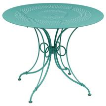 1900 Round Table 96cm  - Lagoon Blue