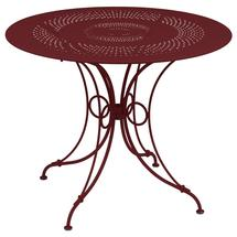1900 Round Table 96cm  - Chilli