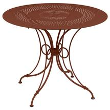 1900 Round Table 96cm  - Red Ochre