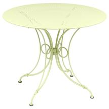 1900 Round Table 96cm  - Frosted Lemon